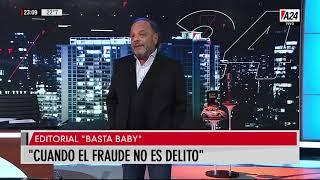 Editorial de Baby Etchecopar en Basta Baby (11/11/19)
