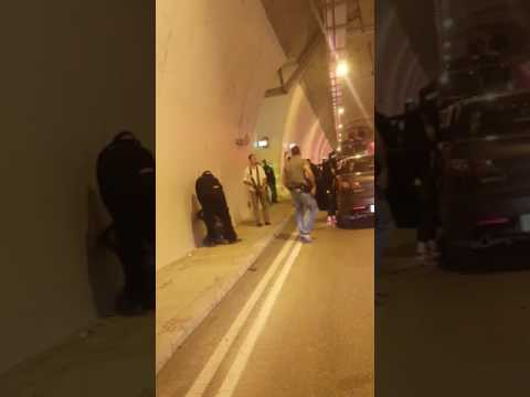Break-in at storage room of Harel Tunnel (Media Resource Group)