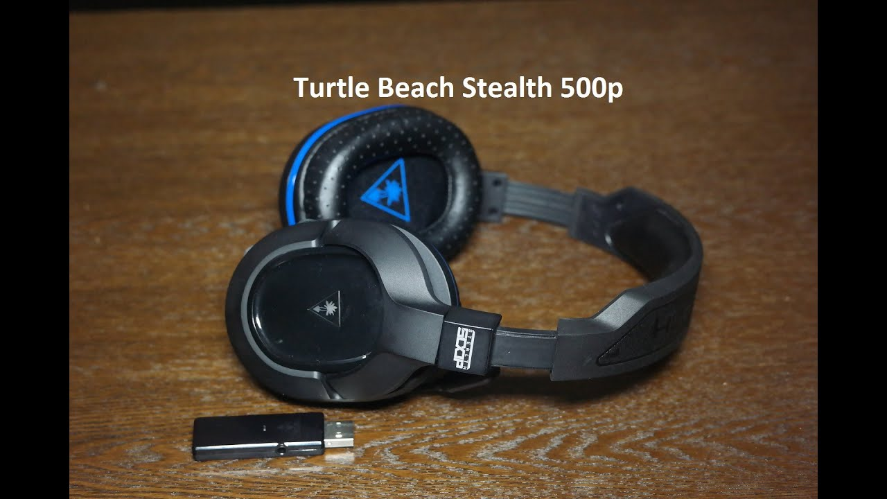 82af0214312 Turtle Beach Stealth 500p Wireless Headset Review [PS4] - YouTube