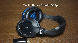Turtle Beach Stealth 500p Wireless Headset Review [PS4]
