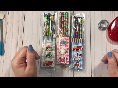 Craft Fair Idea- Pencil And Eraser Pouches