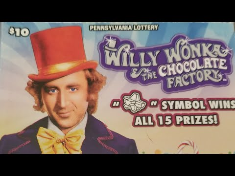 NEW..winner, I missed a match... $10 Willy Wonka Pa lottery scratch tickets