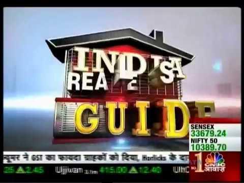 Godrej 24, Hinjewadi, Pune in CNBC Awaaz Indias Real Estate Guide, dated 25 Nov 2017.