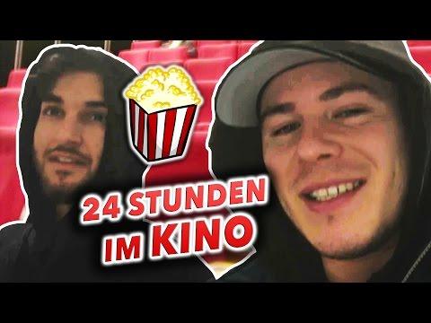 24 STUNDEN im KINO EINSPERREN !!! ( Polizei Einsatz )