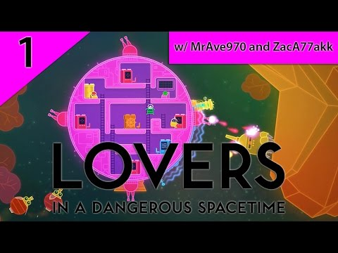ELECTRIC LOVE - LOVERS IN A DANGEROUS SPACE TIME w/ AVERY and ZACH