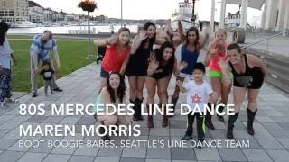 80s Mercedes Line Dance at Seattle