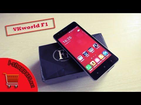 VKworld F1 - обзор и подробный отзыв о дешёвом смартфоне за $45