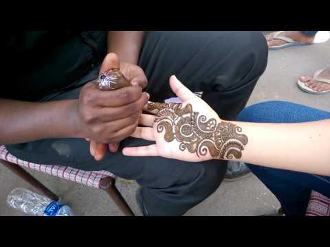 Henna Tattoo in India