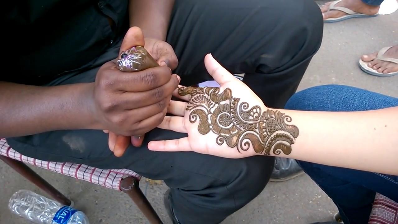 Henna Tattoo In Little India Singapore: Henna Tattoo In India