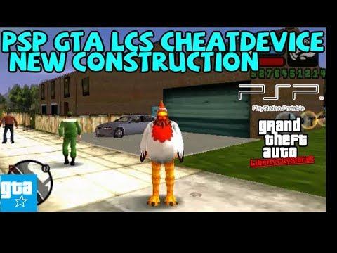 PSP GTA LCS Cheat Device Mod 07 New Construction
