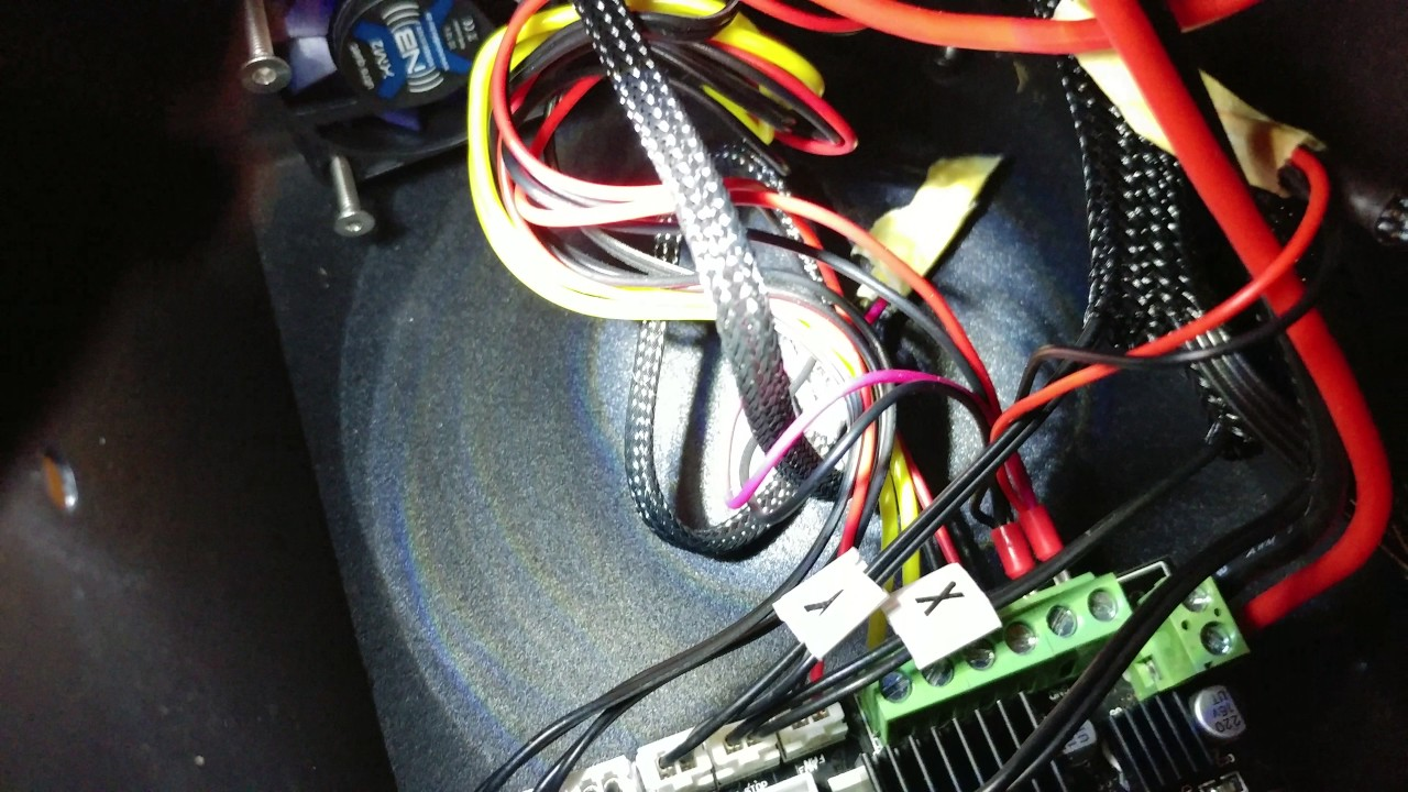 Todays 3d Print Cr 10 Silent Fan Upgrades Part 1 Youtube Speed Motor Wiring Diagram Along With Printer End Stop
