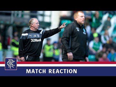 REACTION   Jimmy Nicholl   Hibs 5-5 Rangers