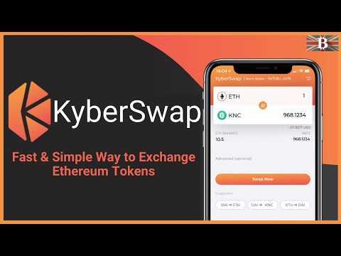 KyberSwap Tutorial: How To Exchange Ethereum & ERC20 Tokens