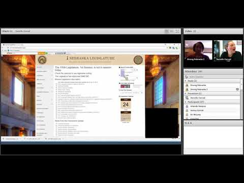 CSN Webinar   Nebraska Legislative Website 0