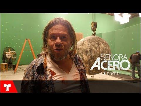 Señora Acero 4 | Señora Acero: Mira como se grabó la muerte del Indio | Telemundo