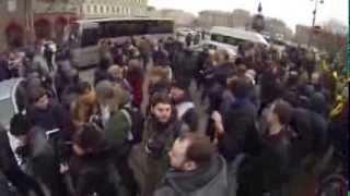 Митинг в Петербурге против ввода российских войск в Украину