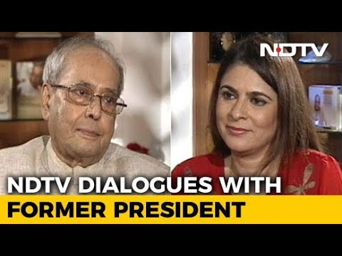The NDTV Dialogues with Pranab Mukherjee