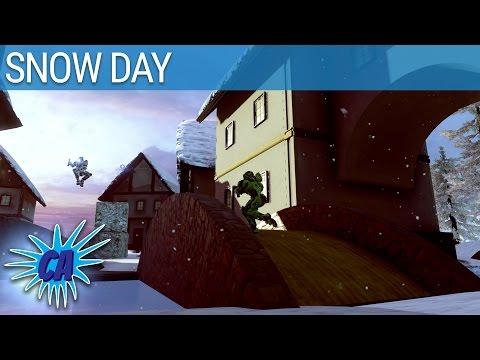 Halo 5 Custom Game - Snowball Fight!