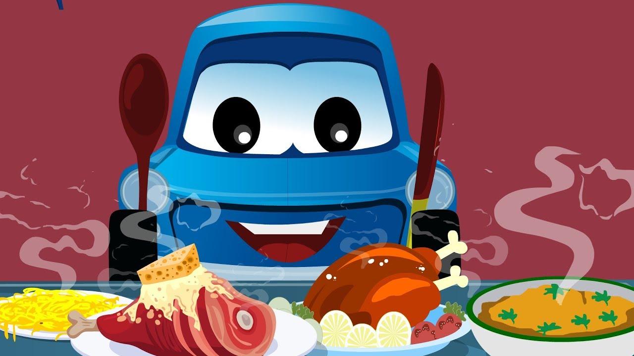 Zeek And Friends Eat Meals Food Songs Car Song And Rhymes