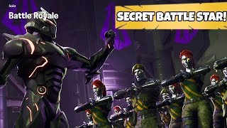 Fortnite Week 4 Secret Battle Badge Location! Where To Find Hidden Battle Star Guide!