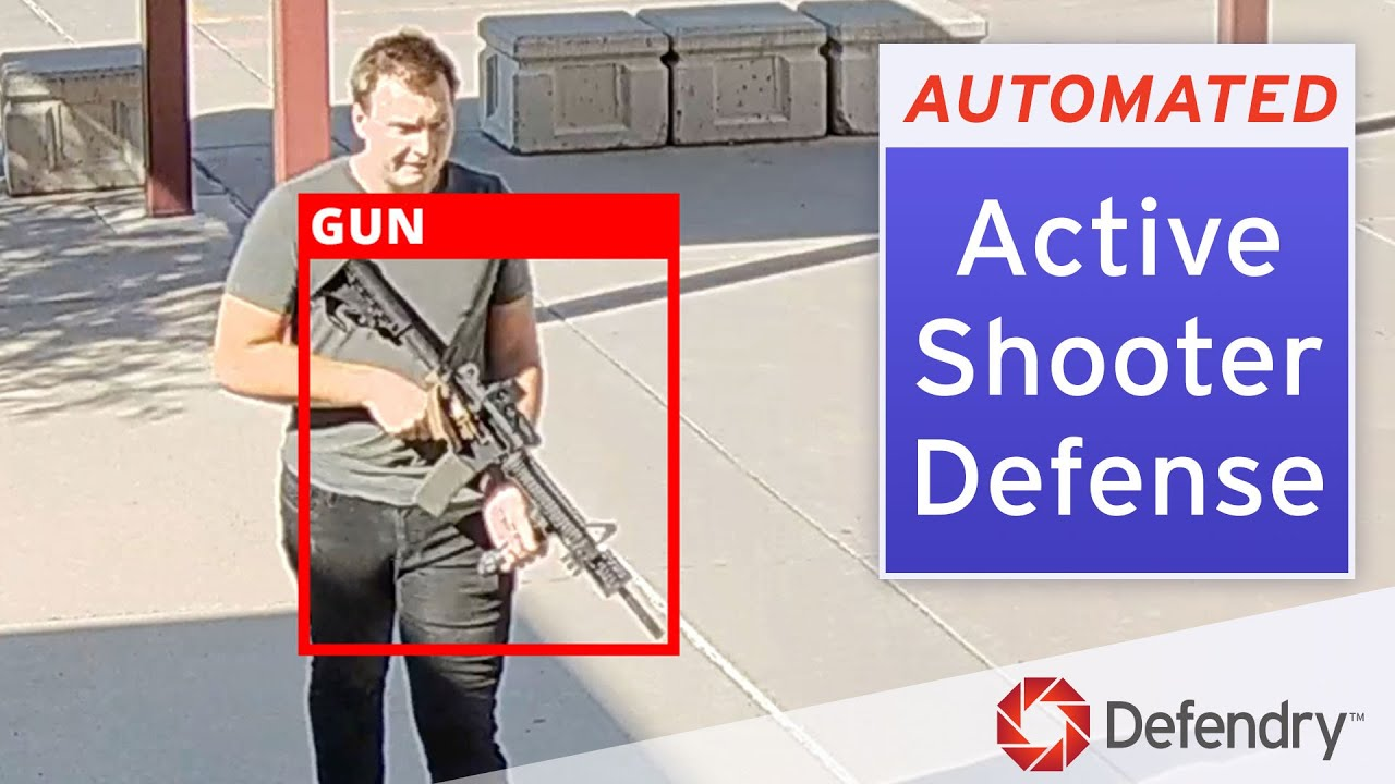 Defendry: Active Shooter Defense Security System