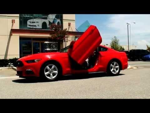 & Mustang 6th Gen lambo doors by Vertical Doors Inc. - YouTube Pezcame.Com