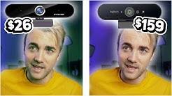 $160 4K Webcam Vs. $26 Cheap Chinese Knockoff Webcam