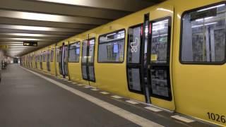 U-Bahn Berlin - Neue Abfertigungsansagen [4K]