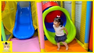 Indoor Playground for Kids and Family Fun Play Hide and Seek Pororo Kids Cafe | MariAndKids Toys