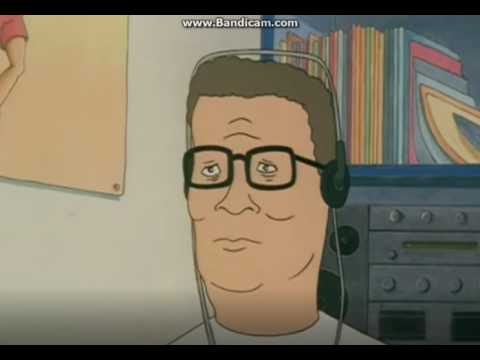 Hank Hill listens to a Kingpin of Memes mashup
