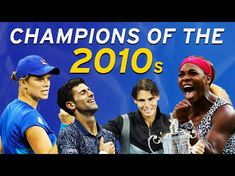 US Open Champions Of The 2010s