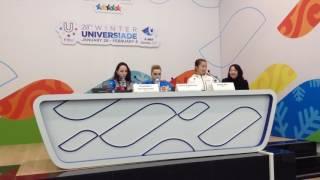 Универсиада-2017. Казахстанский журналист удивил фигуристку Нитаю Рин
