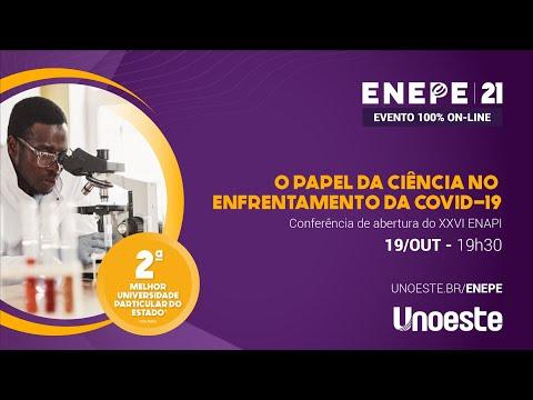 Conferência de abertura do XXVI ENAPI -Encontro Anual de Pesquisa Institucional e Iniciação Científica