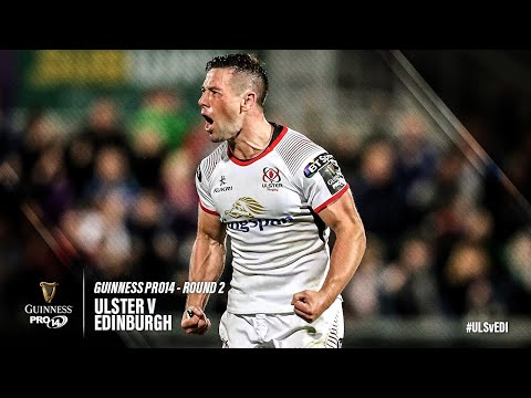 Guinness PRO14 Round 2 Highlights: Ulster Rugby v Edinburgh Rugby