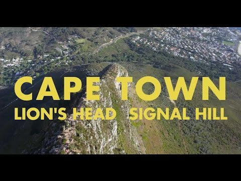 CAPE TOWN - Lion's Head & Signal Hill | 4K Drone Video