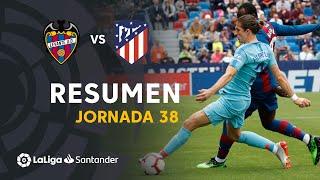 Resumen de Levante UD vs Atlético de Madrid (2-2)