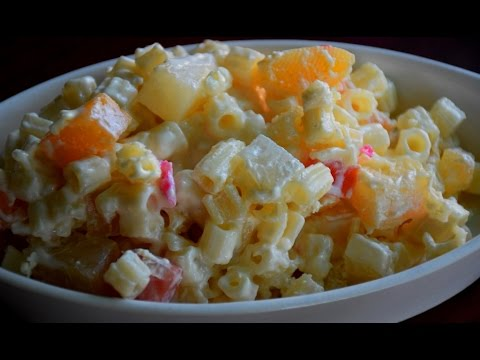 Rich and creamy macaroni-fruit salad : PINAYs