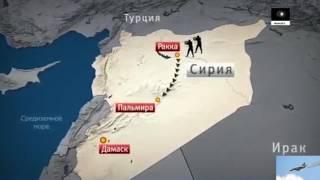 25.05.17 РОССИЙСКИЕ ВКС уничтожили 120 боевиков в СИРИИ, а также 32 машины направляющихся в Пальмиру