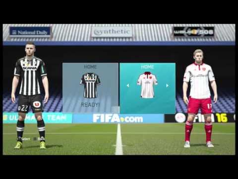Fifa 16 carreer mode _1_ [Bulgaria gamplay]