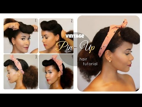 Vintage (Pin-up) Hair Tutorial