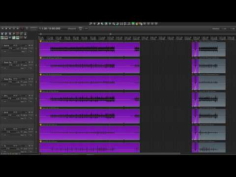 Moving Takes On Multiple Tracks In REAPER - The Easy Way