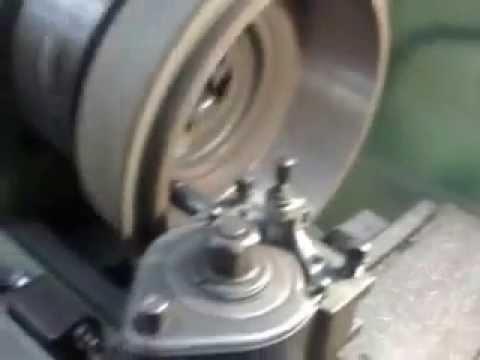 Etwas Neues genug Eicher Bremstrommel ausdrehen D400mm - YouTube #QB_37