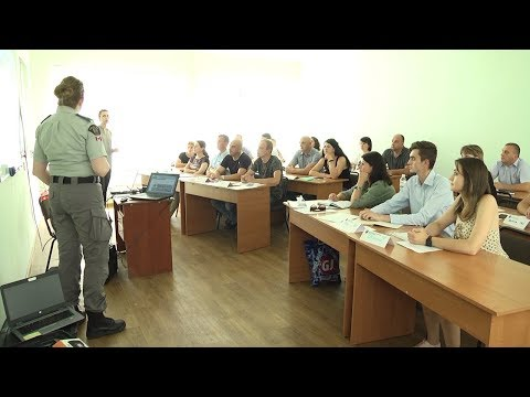 Телеканал UA: Житомир: Канадські детективи розпочали навчання правоохоронців області