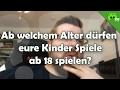 AB WELCHEM ALTER DÜRFEN EURE KINDER SPIELE AB 18/16 SPIELEN? 🎮 Frag PietSmiet #764