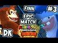 ABM: Mario+Rabbids Kingdom Battle !! Donkey Kong Adventure !! Walkthrough # 3 HD