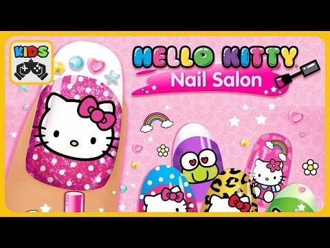 Игра Hello Kitty Nail Salon v 10 мод разблокировано