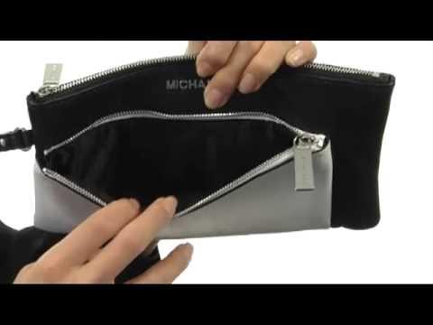 a70c9aec2a80bb MICHAEL Michael Kors Large Tippi Zip Clutch SKU:#8228575 - YouTube