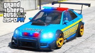 GTA 5 Mods - One RIDICULOUS Tuner Police Car!! (LSPDFR Gameplay)