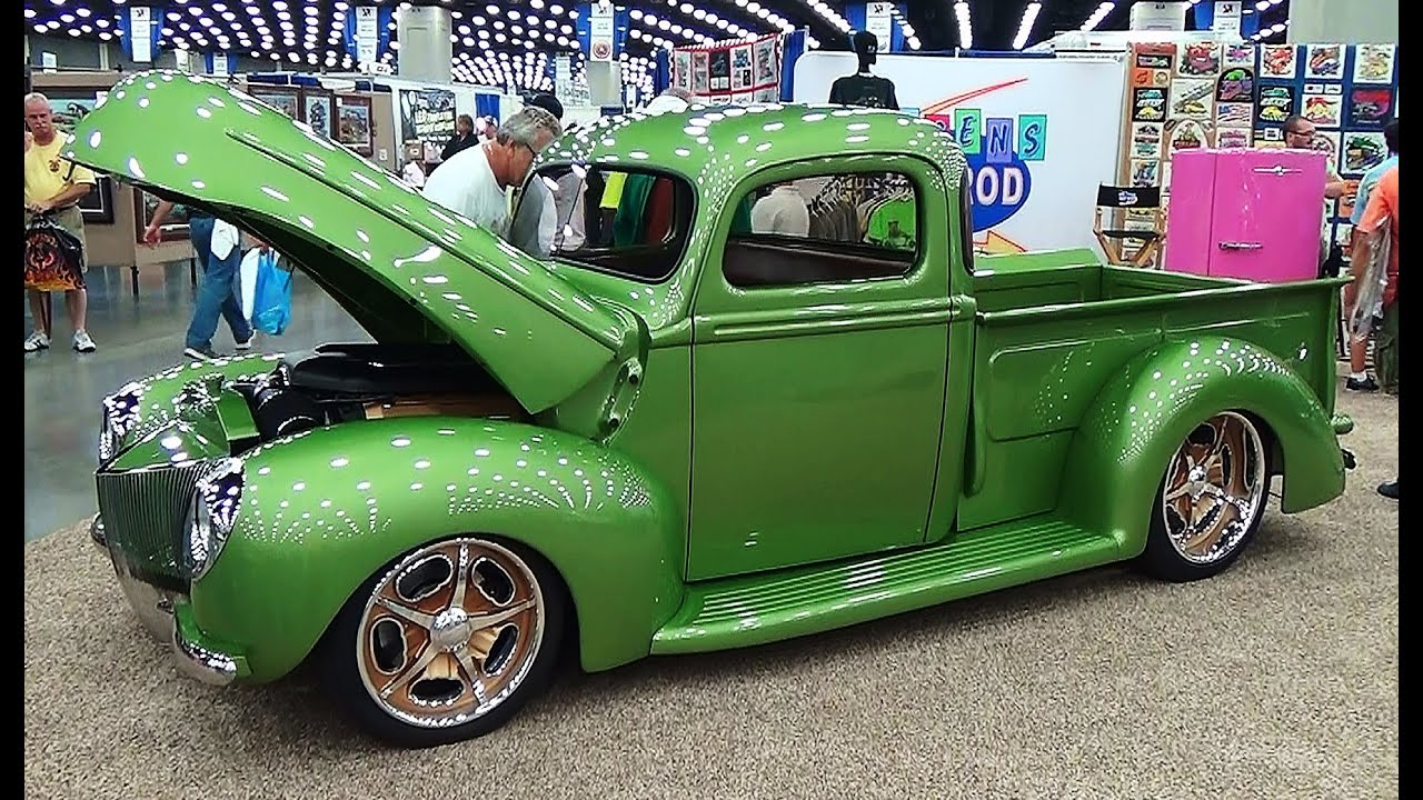 40 Ford Pickup NSRA Street Rod Nationals 2015 - YouTube