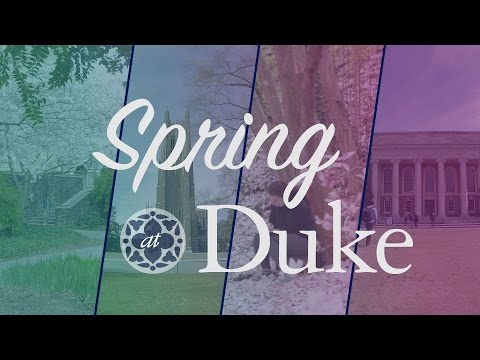 Spring at Duke University [Time Lapse / Slow Motion Video]